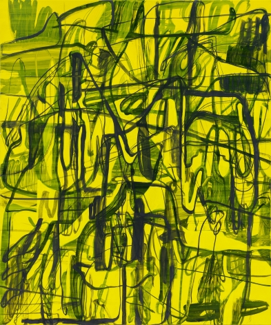 Jana Schröder, Kadlites L19, 2019, Acrylic, graphite and lead on canvas 94 1/2 x 78 3/4 in (240 x 200 cm), JSR19.020