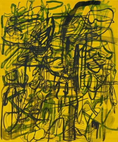 Jana Schröder, Kadlites L22, 2019, Acrylic, graphite and lead on canvas 94 1/2 x 78 3/4 in (240 x 200 cm), JSR19.022