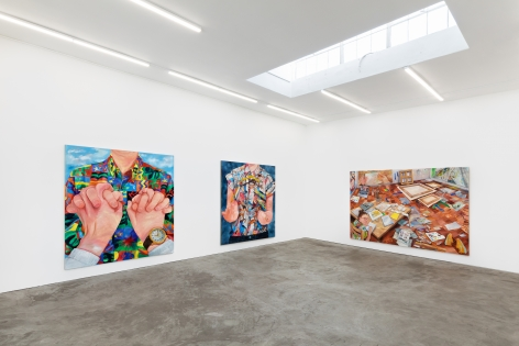 Installation View 7 of Rebecca Ness: Pieces of Mind (July 10–August 31, 2020). Nino Mier Gallery, Los Angeles, CA