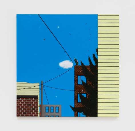 Soyeon Shin Graham Avenue, 2020 Acrylic on canvas 24 x 24 in 61 x 61 cm (SSH20.006)