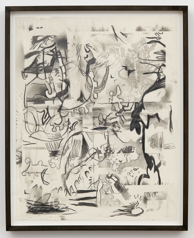 Jan-Ole Schiemann, Osc Mix (series), 2015, Graphite on paper, 19.7 x 15.7 inches (50 x 40 cm), JS15.031