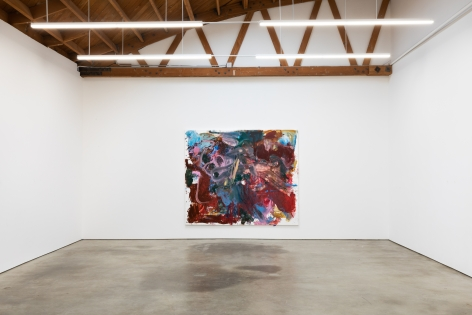 """Installation View of """"Bigger Anke Weyer Painting"""""""