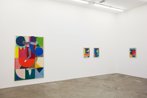 Installation view 6 of Bernard Buhmann: My Automatic Me (October 6 - November 17, 2018) at Nino Mier Gallery, Los Angeles