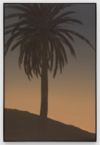 Jake Longstreth, Untitled (Palm 4), 2020. Oil on muslin, 60 x 40 in, 152.4 x 101.6 cm (JLO20.020)