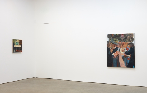 Installation view 6 of Celeste Dupuy-Spencer: The Chiefest of Ten Thousand (September 22-November 3, 2018), Nino Mier Gallery, Los Angeles