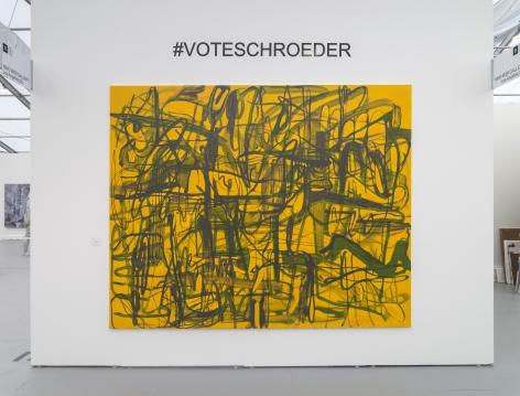 UNTITLED, ART, Miami Beach 2019, Installation view; Schroeder close-up
