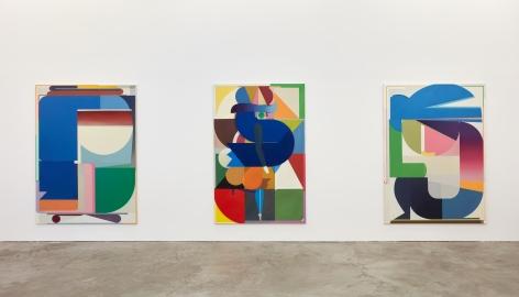 Installation view 3 of Bernard Buhmann: My Automatic Me (October 6 - November 17, 2018) at Nino Mier Gallery, Los Angeles