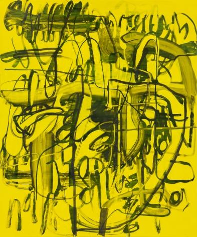 Jana Schröder, Kadlites L20, 2019, Acrylic, graphite and lead on canvas, 94 1/2 x 78 3/4 in (240 x 200 cm), JSR19.018