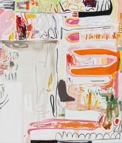 Andreas Breunig, Body Possibility No3, 2019, Oil, graphite, charcoal on canvas, 90 1/2 x 74 3/4 in 230 x 190 cm, ABR19.026