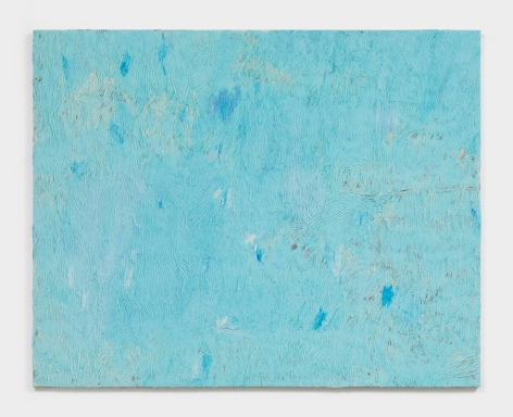 Dashiell Manley blue fishes in the water, 2021 Oil on linen 48 x 60 in 121.9 x 152.4 cm (DMA21.008)