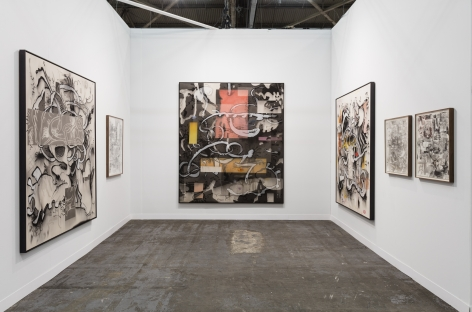 The Armory Show 2017, Installation view; Interior room view