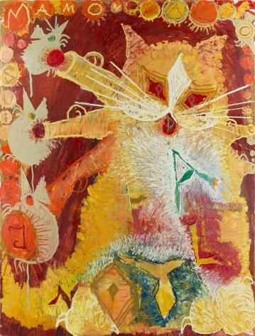 Bendix Harms, Mamon Dalton, 2019. Oil on canvas, 98 3/8 x 74 3/4 in, 250 x 190 cm (BHA20.003)