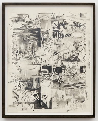 Jan-Ole Schiemann, Osc Mix (series), 2015, Graphite on paper, 23.6 x 19.7 inches (60 x 50 cm), JS15.034