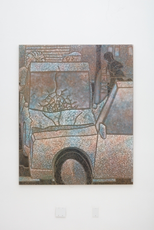Maximilian Kirmse, C.C., 2017, Oil on linen, 63 x 51 1/8 in (160 x 130 cm), MK17.002