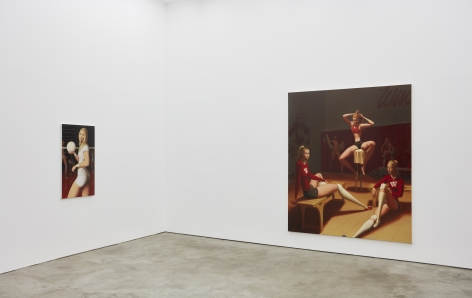 Installation view 5 of Jansson Stegner: New Paintings (January 20-March 3, 2018) at Nino Mier Gallery, Los Angeles