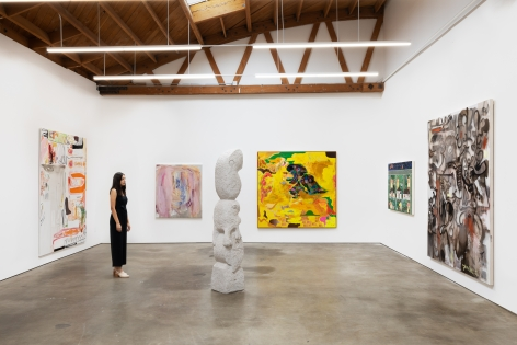 Installation shot 7 of Five Year Anniversay Show (June 27–August 31, 2020). Nino Mier Gallery, Los Angeles, CA