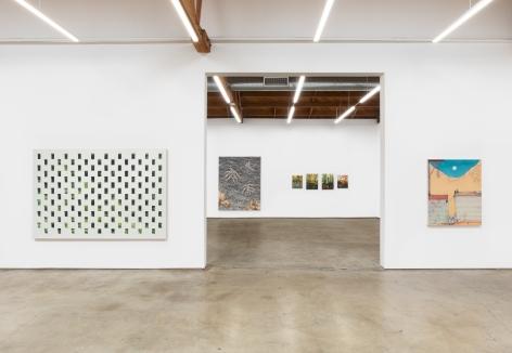 Installation View of REWILDING Exhibition (June 26-July 31, 2021) Nino Mier Gallery, Los Angeles