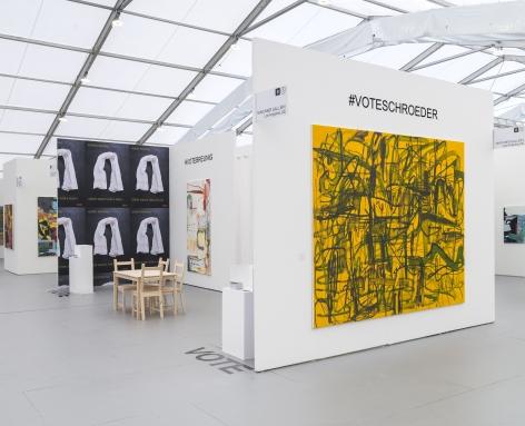 UNTITLED, ART, Miami Beach 2019, Installation view; Schroeder angled view