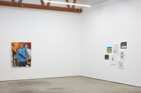 Installation view 5 of Celeste Dupuy-Spencer: The Chiefest of Ten Thousand (September 22-November 3, 2018), Nino Mier Gallery, Los Angeles