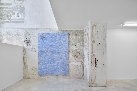 Installation View of Dashiell Manley, Soft Hidings (September 9–October 9, 2021)  Nino Mier Gallery, Brussels