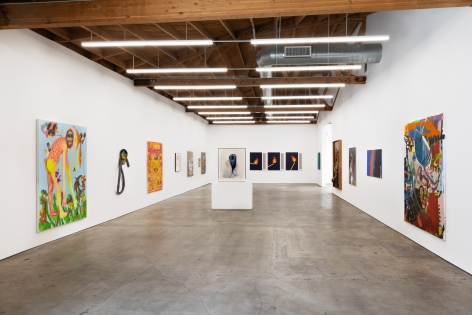 Installation shot 4 of Five Year Anniversay Show (June 27–August 31, 2020). Nino Mier Gallery, Los Angeles, CA