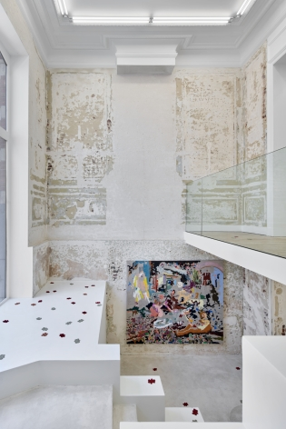 Installation View of Cindy Phenix, Dead Flowers out of the Garden, Nino Mier Gallery Brussels