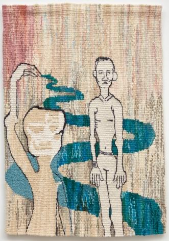 Tomasz Kowalski / Alicja Kowalska, Release, 2018. Tapestry, 31 3/4 x 22 1/4 in, 80.6 x 56.5 cm (TKO18.009)