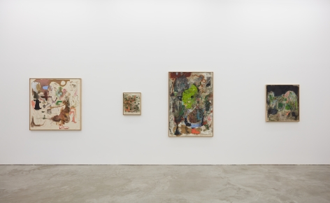Installation view 5 of Michael Bauer: Soft Paintings (Bearnaise) (January 27 – March 11, 2017), Nino Mier Gallery, Los Angeles
