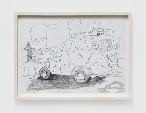 Gerlind Zeilner Thessaloniki, 2019 Ink on paper 8 1/4 x 11 3/4 in 21 x 30 cm (GZE20.022)