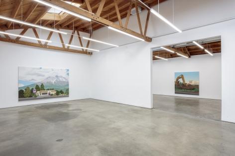 Installtion views of Jake Longstreth, Seasonal Concepts, Nino Mier Gallery, Los Angeles