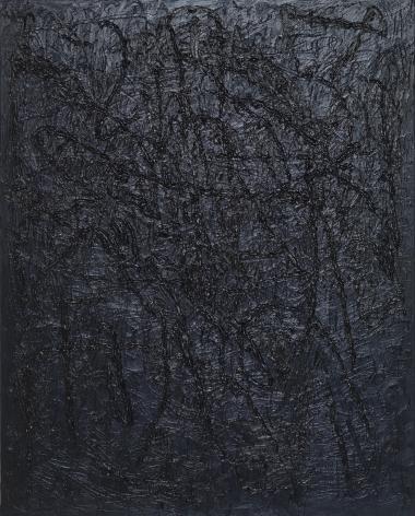 Jana Schroeder, Spontacts Ö14, 2015. Oil on canvas, 78.7 x 63 inches, 200 x 160 cm (JSR15.018)