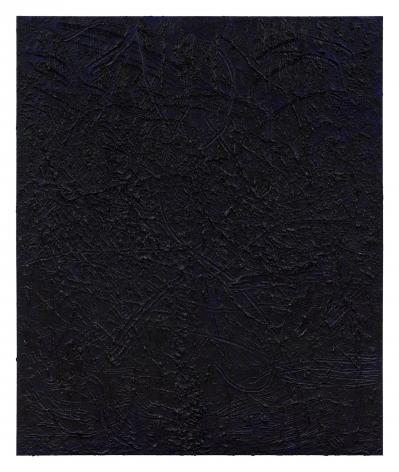 Jana Schröder, Kinkrustation PB13, 2016, Papermaché, acrylic, and oil on canvas 94 1/2 x 78 3/4 in (240 x 200 cm), JSR16.006