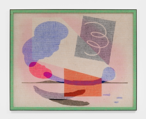 David Renggli Desire Painting (Stralenderio), 2021