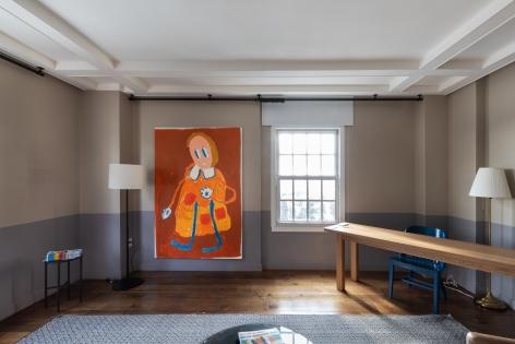 André Butzer, FELIX LA 2019, Installation view, Right wall