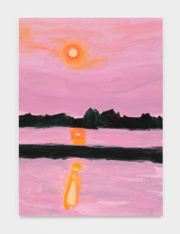 Nicole Wittenberg Sunset 1, 2021 Oil on canvas 66 x 48 in 167.6 x 121.9 cm (NWI21.001)