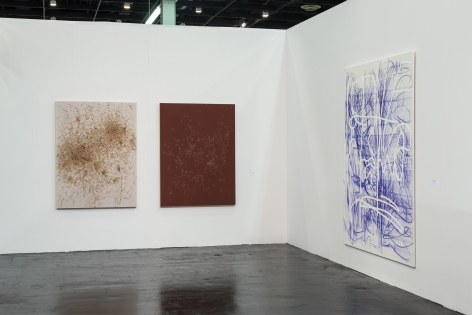 Installation view 3 of Jana Schröder & Thomas Wachholz at Art Cologne, 2016
