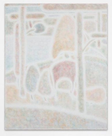 Maximilian Kirmse, P.L.S.1, 2018, Oil on linen, 63 x 51 1/8 in (160 x 130 cm), MK18.010