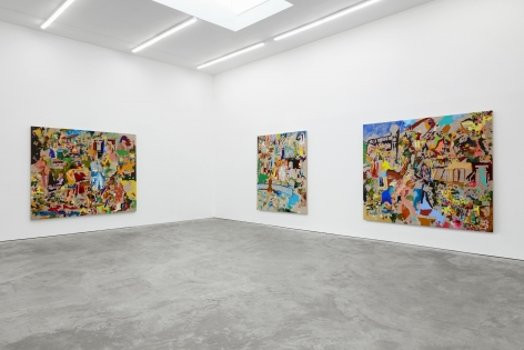 Installation View of Cindy Phenix: Particles of Abnormality (October 17–November 14, 2020). Nino Mier Gallery, Los Angeles, CA 2