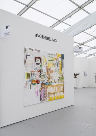 Installation View, Vote Breunig, of UNTITLED, ART, Miami Beach 2019