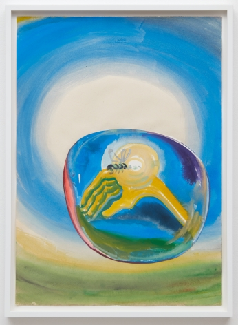 Tomasz Kowalski, Untitled, 2018. Watercolor on paper, 24 x 17 in, 61 x 43.2 cm (TKO18.015)