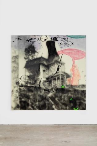Antwan Horfee Fear Me Not - House Foundings, 2021 Acrylic on canvas 78 3/4 x 78 3/4 in 200 x 200 cm (HOR21.005)