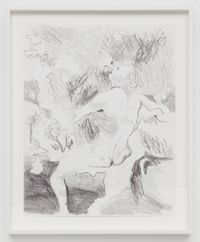 Celeste Dupuy-Spencer Everywhere I Go, You're Always Right There With Me, 2018 Pencil on paper 14 x 11 in 35.6 x 27.9 cm (CDS18.006)