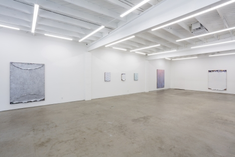 Installation View of Andrew Dadson, Wave Gardens (September 25 - October 30, 2021) Nino Mier Gallery, Los Angeles, CA
