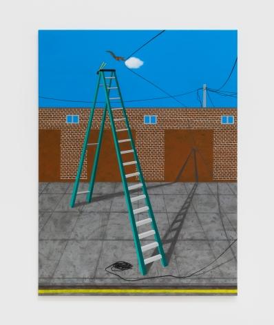Soyeon Shin Humboldt Street, 2019 Acrylic on canvas 30 x 40 in 76.2 x 101.6 cm (SSH20.003)