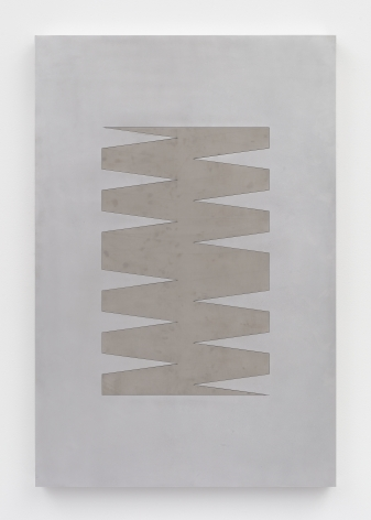 Zak Kitnick 24 Month Calendar 1 (Finished Stainless), 2020 Aluminum, stainless steel, and hardware with aluminum and brass checkers 54 x 36 x 2 1/4 in 137.2 x 91.4 x 5.7 cm (ZKI20.010)
