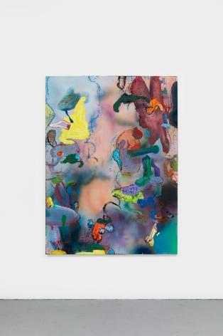 Antwan Horfee  Frank's Classic, 2021  Acrylic on canvas51 1/8 x 68 7/8 in  130 x 175 cm  (HOR21.026)