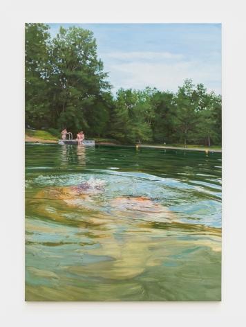 Laura Sanders Vacancy, 2016 Oil on canvas 61 x 43 in 154.9 x 109.2 cm (LSA21.001)