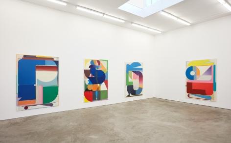 Installation view of Bernard Buhmann: My Automatic Me (October 6 - November 17, 2018) at Nino Mier Gallery, Los Angeles