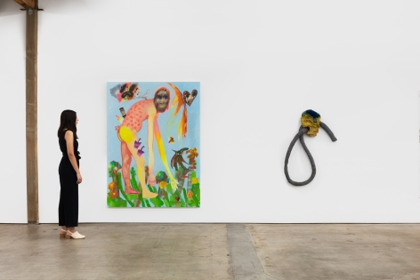 Installation shot 5 of Five Year Anniversay Show (June 27–August 31, 2020). Nino Mier Gallery, Los Angeles, CA