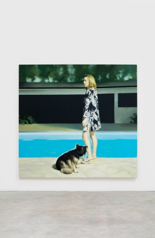 Jonathan Wateridge House, 2017 Oil on linen 82 5/8 x 78 3/4 in 210 x 200 cm (JWA21.056)